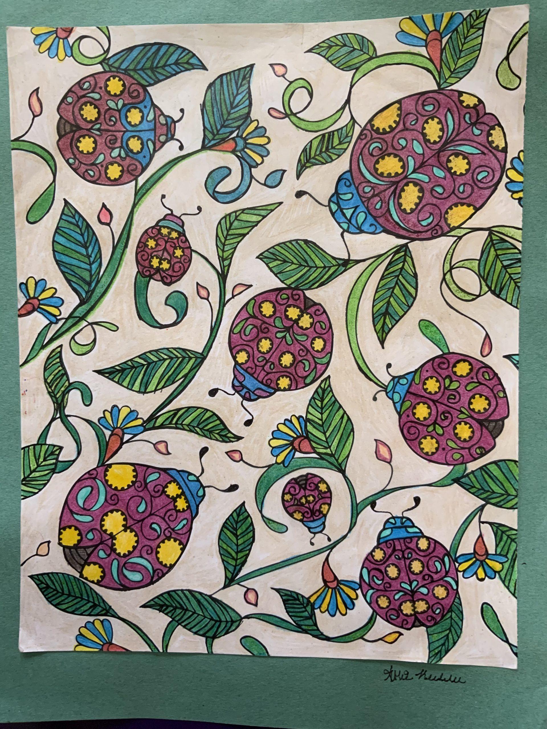 Ladybugs-artwork