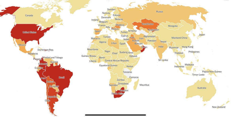 #YHWH||ANYAMARY||JESUSISRAEL share a Coronavirus World News Update