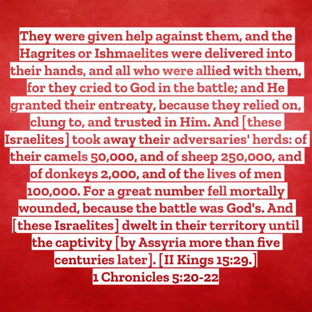 1-Chronicles-5-20-22