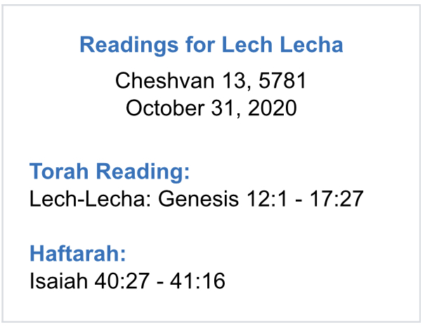 Lech-Lecha-readings