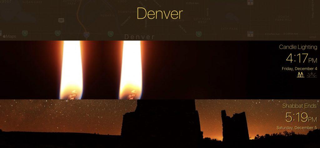 Denver-candle-lighting-times-12-4-20