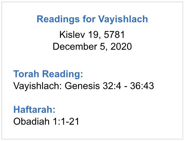Reading-for-Vayishlach