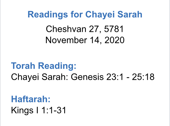 Reading-for-Chayei-Sarah
