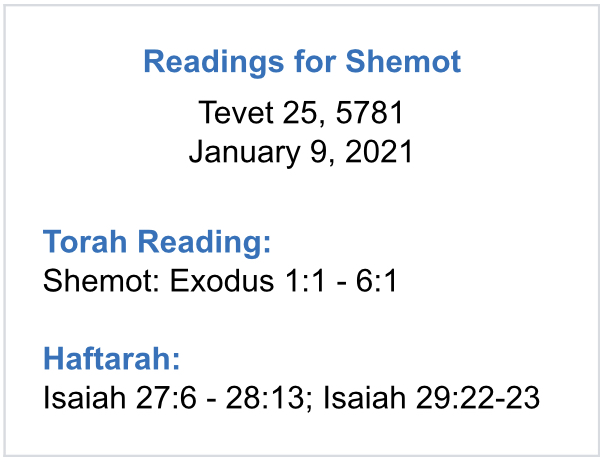 Readings-for-Shemot