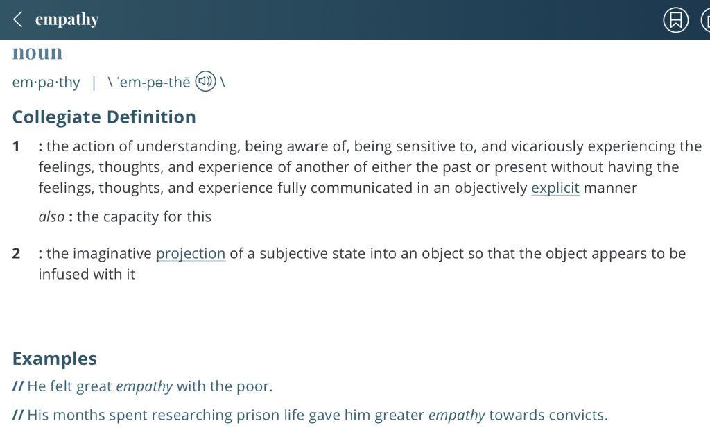 Definition-empathy