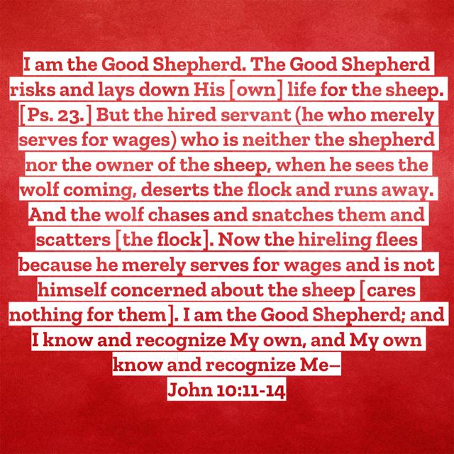 John 10:11-14