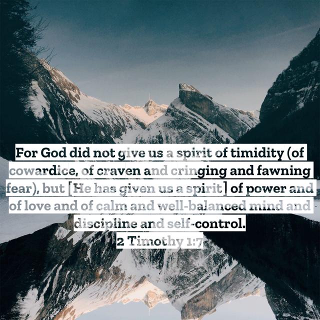 IITimothy1:7