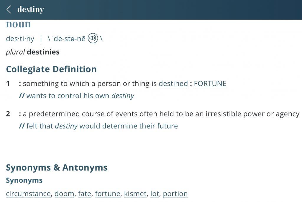 definition-destiny