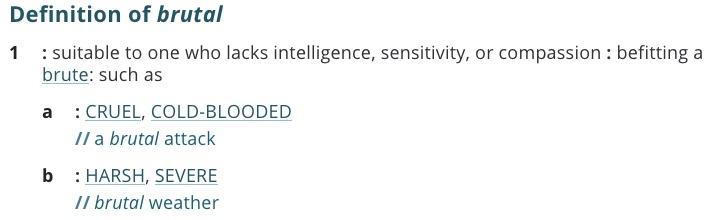 definition-brutal