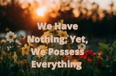 have-nothing-possess-everything