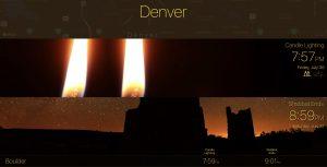 candle-lighting-times-denver-boulder-7-30-21