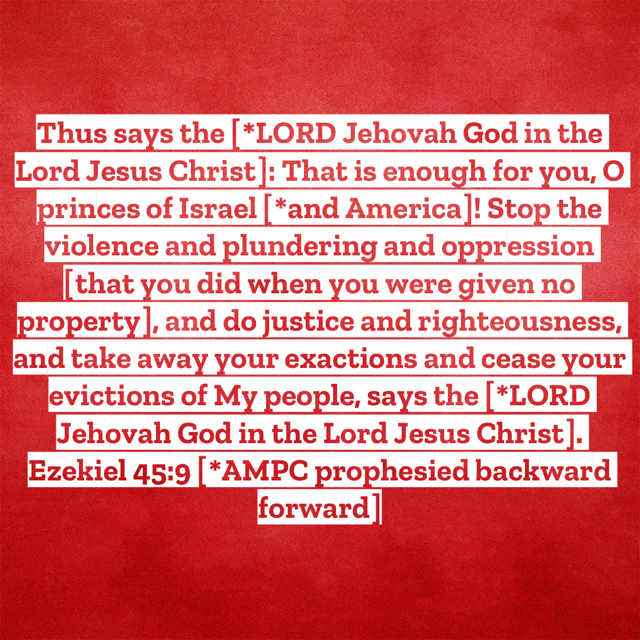 Ezekiel-45:9