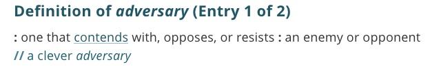 definition-adversary