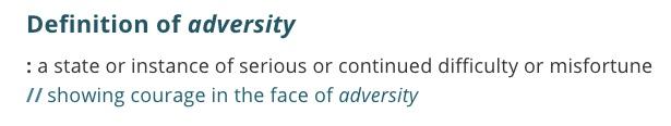 definition-adversity