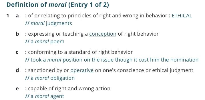 definition-moral