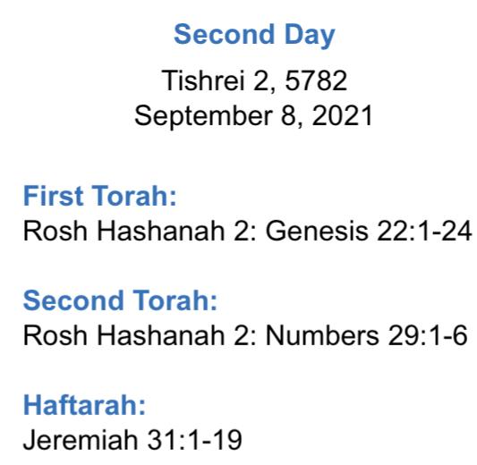 Rosh-Hashanah-Readings-Day2-9-8-21